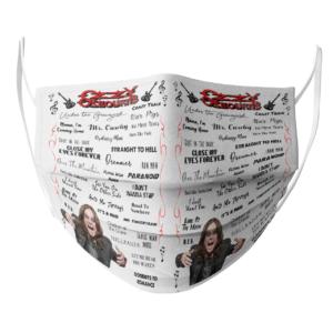 Ozzy Osbourne face mask