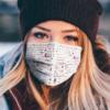 Faith Hill face mask