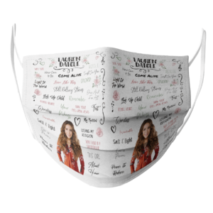 Lauren Daigle face mask