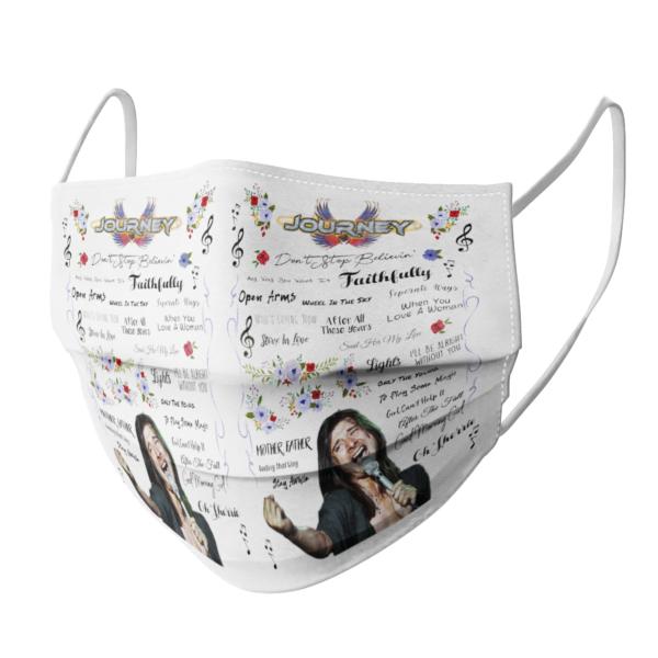 Journey face mask