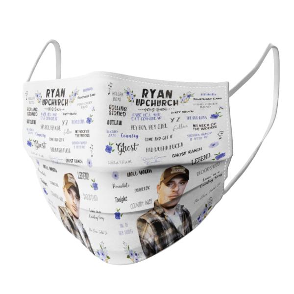Ryan Upchurch face mask