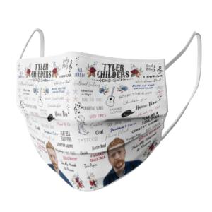 Tyler Childers face mask