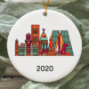 Madrid City 2020 Christmas Tree Ornament