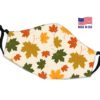 Leaves Autumn Reusable Face Mask