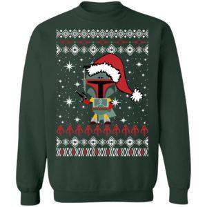 Boba Fett Santa Star Wars Christmas Ugly Sweater