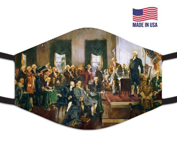 Presidential George Washington Reusable Face Mask