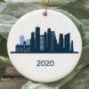 Minneapolis City 2020 Christmas Tree Ornament