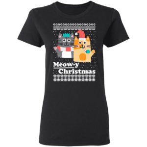 Cats Meowy Christmas Funny Ugly Christmas Sweater