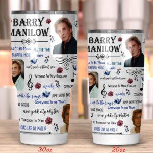 Barry Manilow Tumbler 20oz 30oz