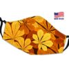 Leaves Sunset Reusable Face Mask