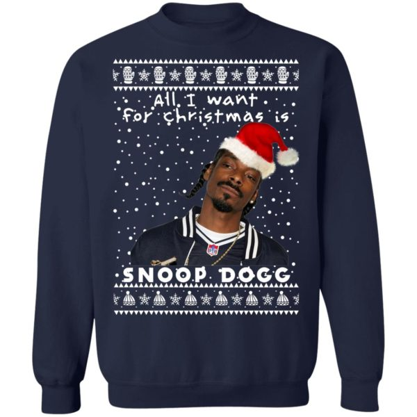 Snoop Dogg Rapper Ugly Christmas Sweater
