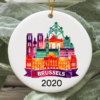 Brussels City 2020 Christmas Tree Ornament