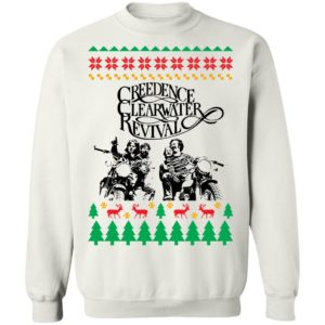 Creedence Clearwater Revival Band Ugly Christmas Sweater