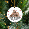Have Barry Wood Tree Decoration Christmas Ornament
