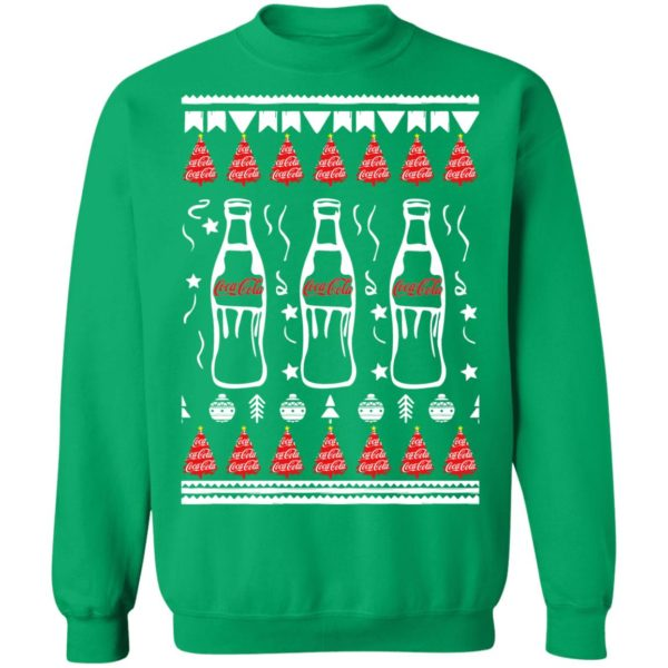 Coca Cola Bottles Ugly Christmas Sweater