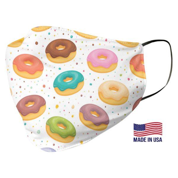 Donut Pattern Face Mask