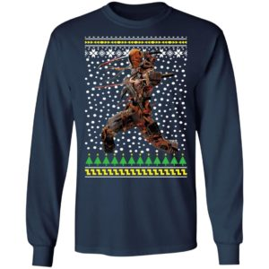 Deathstroke Ugly Christmas Sweater