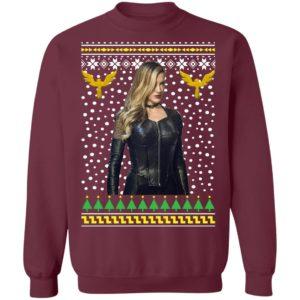 Black Canary Sara Lance Ugly Christmas Sweater