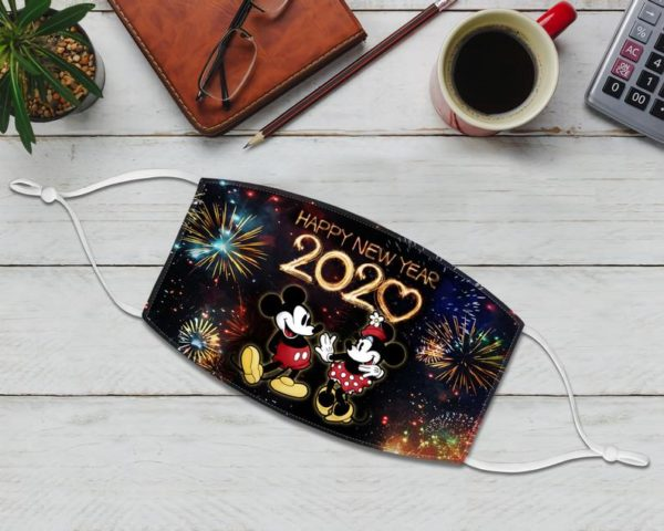 New Year's Mask 2021 Party Micky Mouse Face Mask
