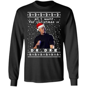 DrDre Rapper Ugly Christmas Sweater