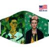 Frida Kahol Self Portrait Fine Art Reusable Face Mask