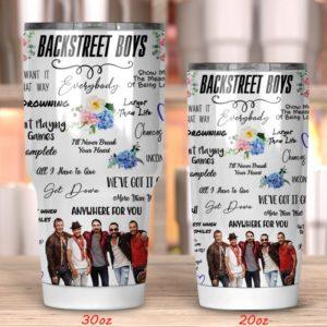 Backstreet Boys Tumbler 20oz 30oz