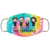 Tie Dye RBG The Supremes face mask