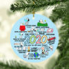 Snoopy Peanuts in Pandemic Quarantine 2020 Tree Decoration Christmas Ornament