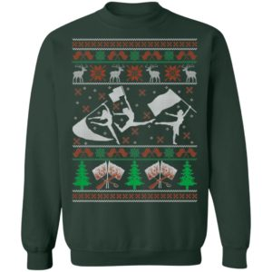 Color Guard Winter Guard Holiday Ugly Christmas Sweater