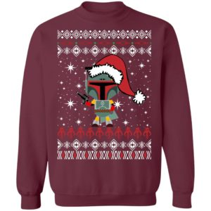 Boba Fett Santa Star Wars Christmas Ugly Sweater