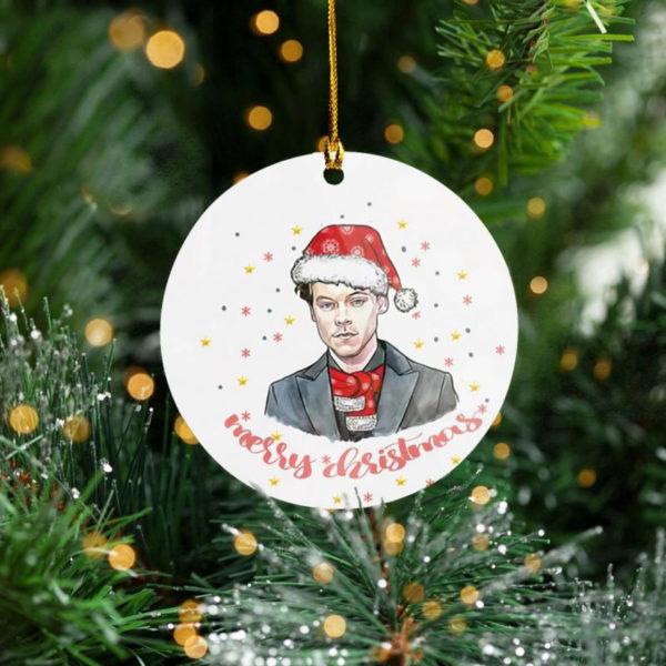 One Direction Pop Rock 2020 Plaid Harry Tree Decoration Christmas Ornament