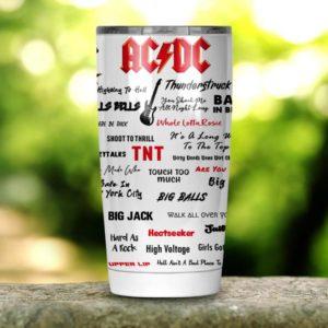 ACDC Band Tumbler 20oz 30oz