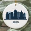 Sacramento City 2020 Christmas Tree Ornament