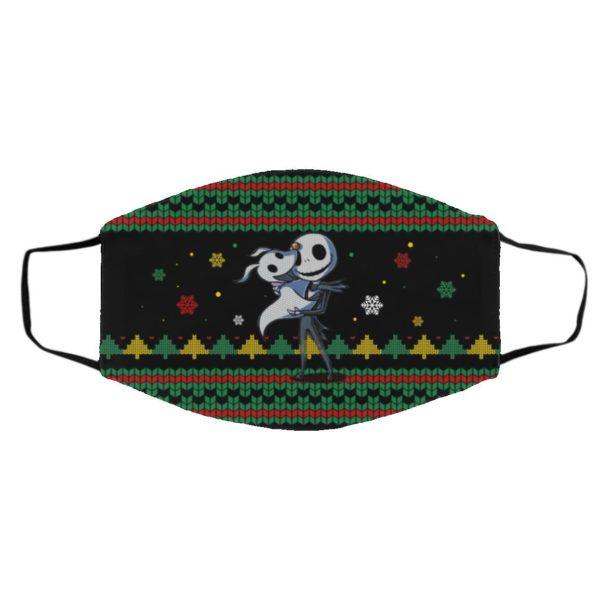 Nightmare Before Christmas Jack Skellington Face Mask