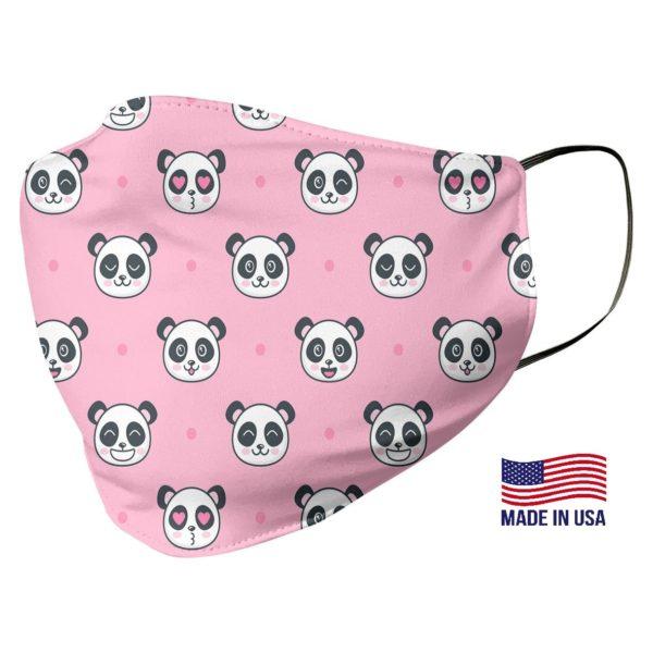 Kawaii Panda Pattern Face Mask