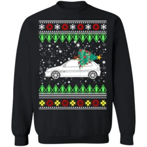 Citroen DS 23 EFI Classic Car Ugly Christmas Sweater