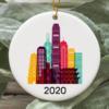Hong Kong City 2020 Christmas Tree Ornament