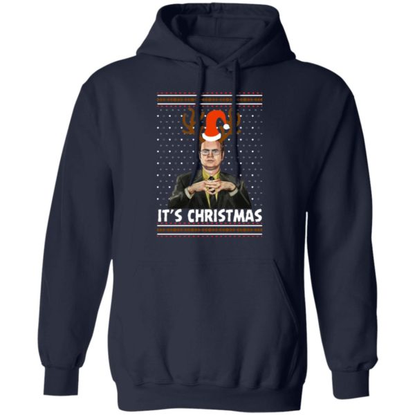 Dwight Schrute Its Christmas Ugly Sweater