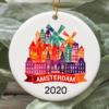 Amsterdam City 2020 Christmas Tree Ornament
