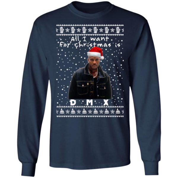 DMX Rapper Ugly Christmas Sweater