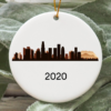 Los Angeles City 2020 Christmas Tree Ornament
