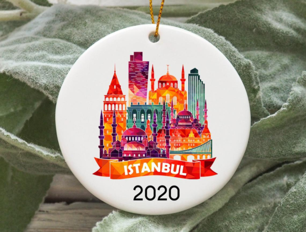 Istanbul City 2020 Christmas Tree Ornament