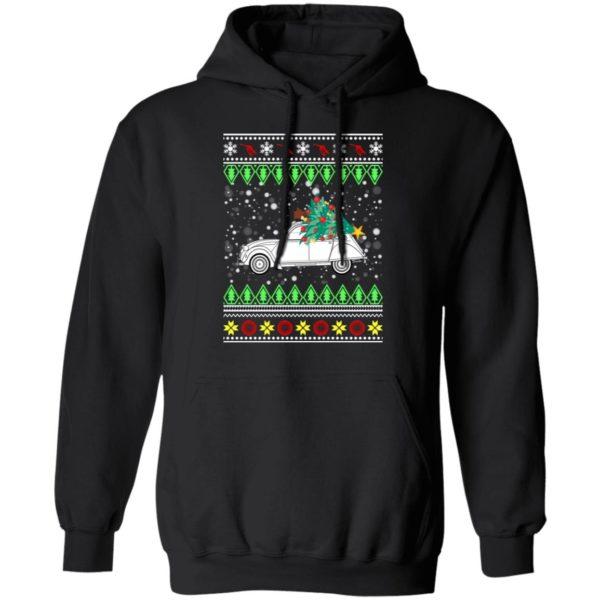 Citroen 2CV Ugly Christmas Sweater