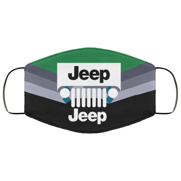 Jeep Face Mask Washable, Reusable