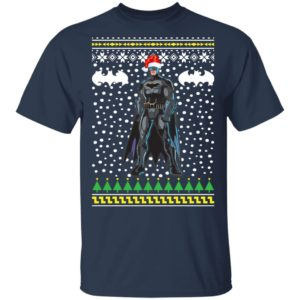 Batman Santa Hat Ugly Christmas Sweater