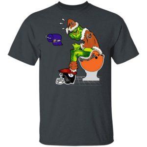 Santa Grinch Cincinnati Bengals Shit On Other Teams Christmas Sweater, Shirt