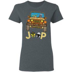 Baby Yoda drive jeep Shirt