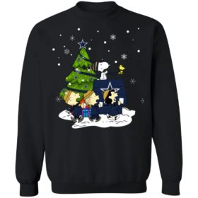 Snoopy The Peanuts Dallas Cowboys Christmas Sweater