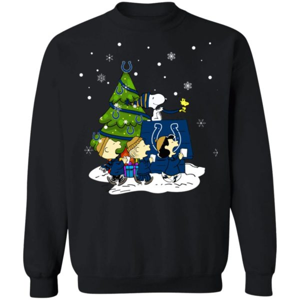 Snoopy The Peanuts Indianapolis Colts Christmas Sweater