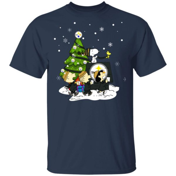 Snoopy The Peanuts Pittsburgh Steelers Christmas Sweater